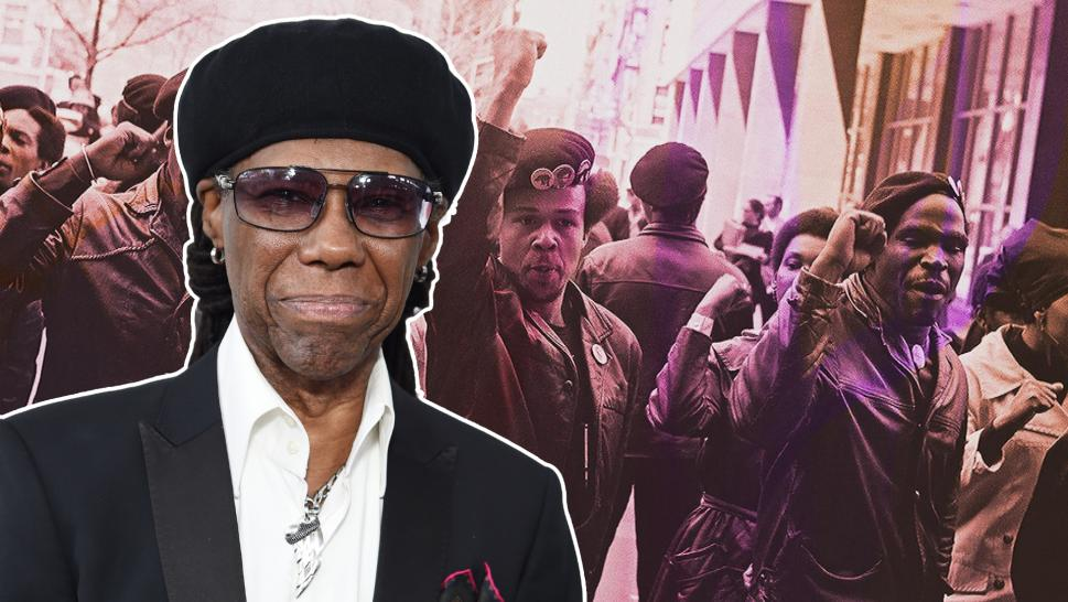 Famed music producer Nile Rodgers used to be a Black Panther