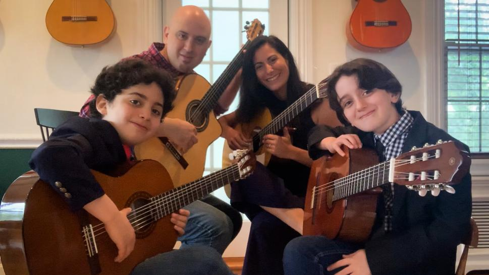 This Family Has Been Jamming Together Every Single Day