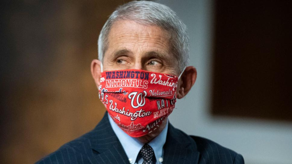 Dr. Anthony Fauci will throw out the ceremonial first pitch Thursday when the Washington Nationals take on the New York Yankees.
