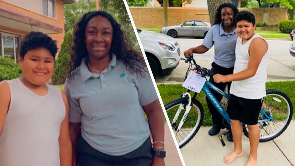 Milwaukee Bus Driver Buys 10-Year-Old Boy a Bike