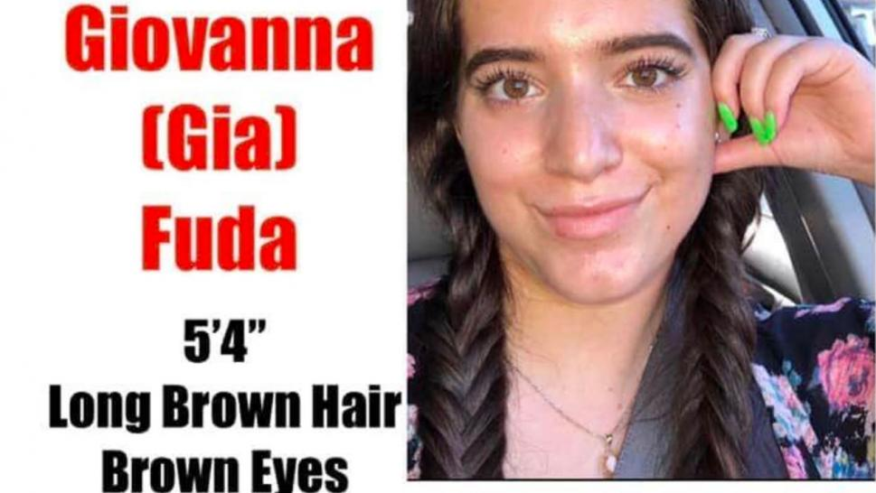 Gia Fuda, 18, has been missing since Friday when she left her Maple Valley home in her silver 2008 Toyota Corolla.