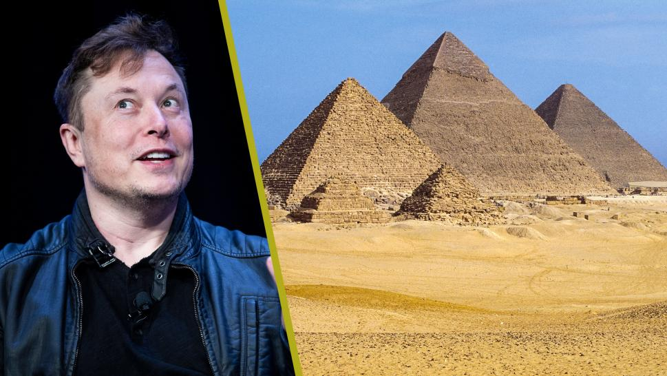 Egypt Pyramid Expert Claps Back at Elon Musk for Alien Tweet
