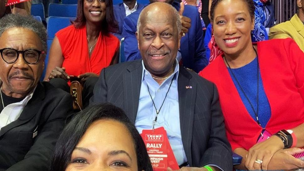 Herman Cain died from coronavirus in July.