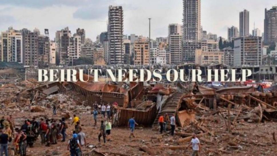 A GoFundMe has started to help those in Beirut.