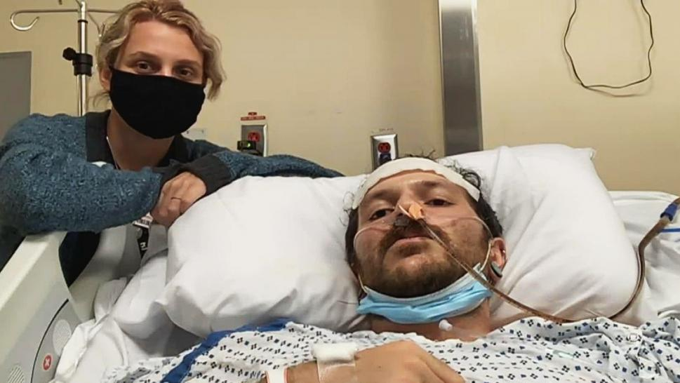 Husband Doesn't Know If He'll Walk Again After Being Shot