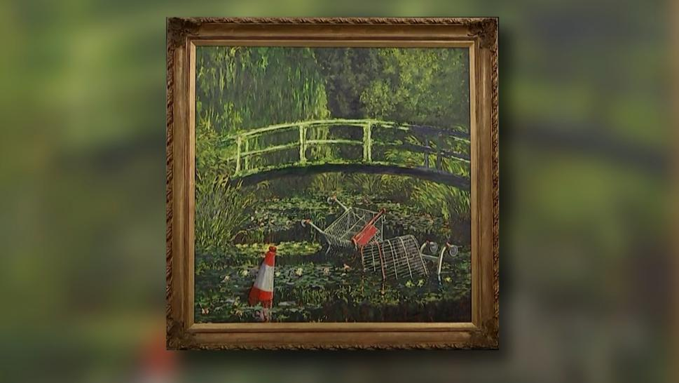 "Banksy's ""Show Me the Monet"""