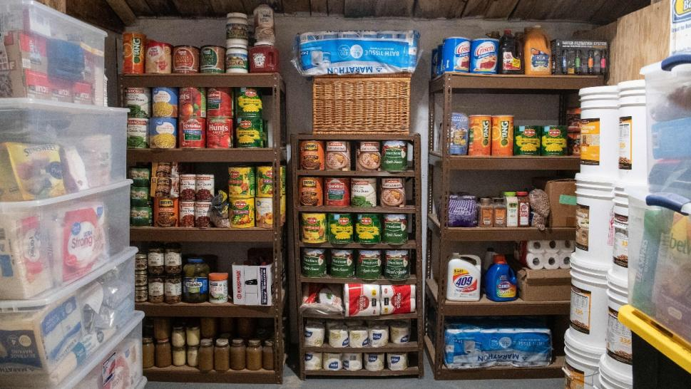 Fortitude Ranch food stockpile