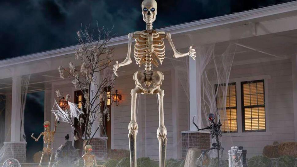 Home Depot Skeleton