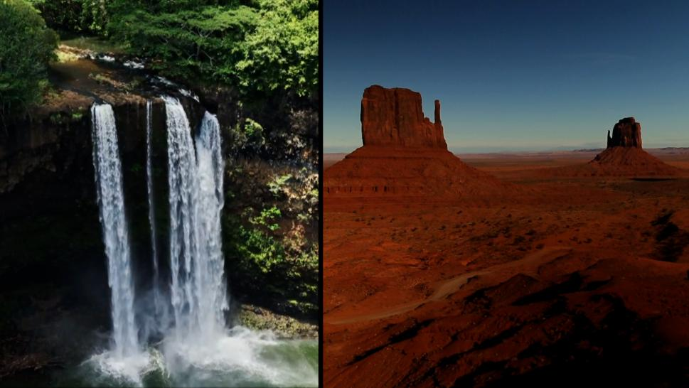 Beautiful American landscapes