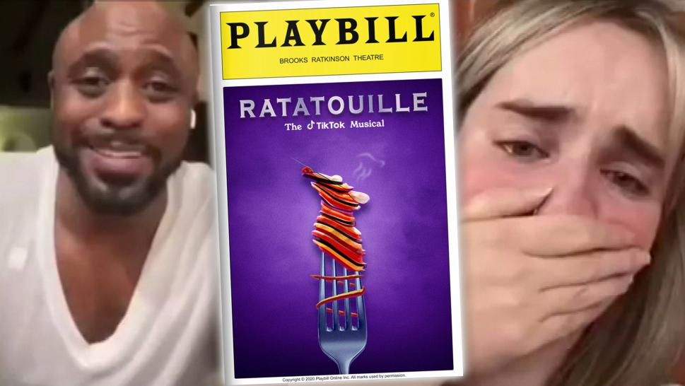 TikToker Cries Watching Her 'Ratatouille' Song Be Performed