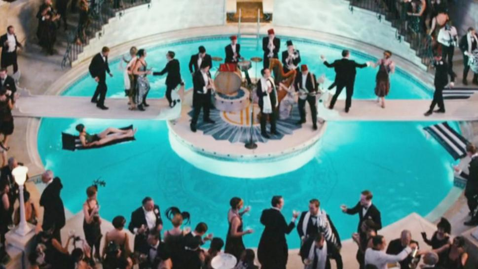 "A party in ""The Great Gatsby"""