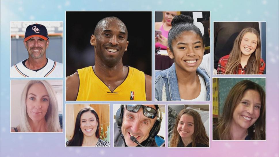 Kobe Bryant, Gianna Bryant, and others who lost their lives in a helicopter crash on January 26, 2020.