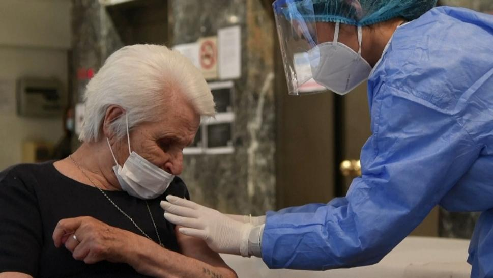 Auschwitz Survivor Gets Vaccine on Holocaust Remembrance Day