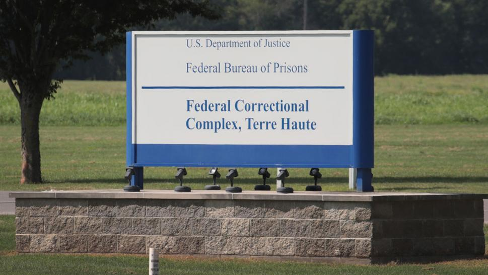 Correctional facility in Terre Haute, Indiana.