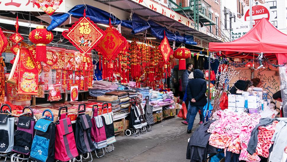 Once bustling streets in New York City's Chinatown are now largely empty in the days leading up to Lunar New Year as the community continues to deal struggle amid the coronavirus pandemic.