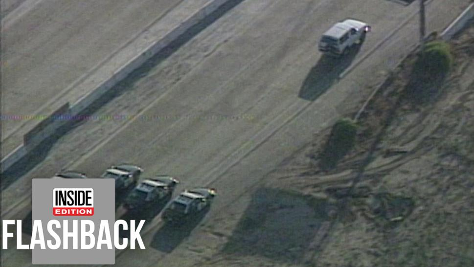 The O.J. Simpson police chase
