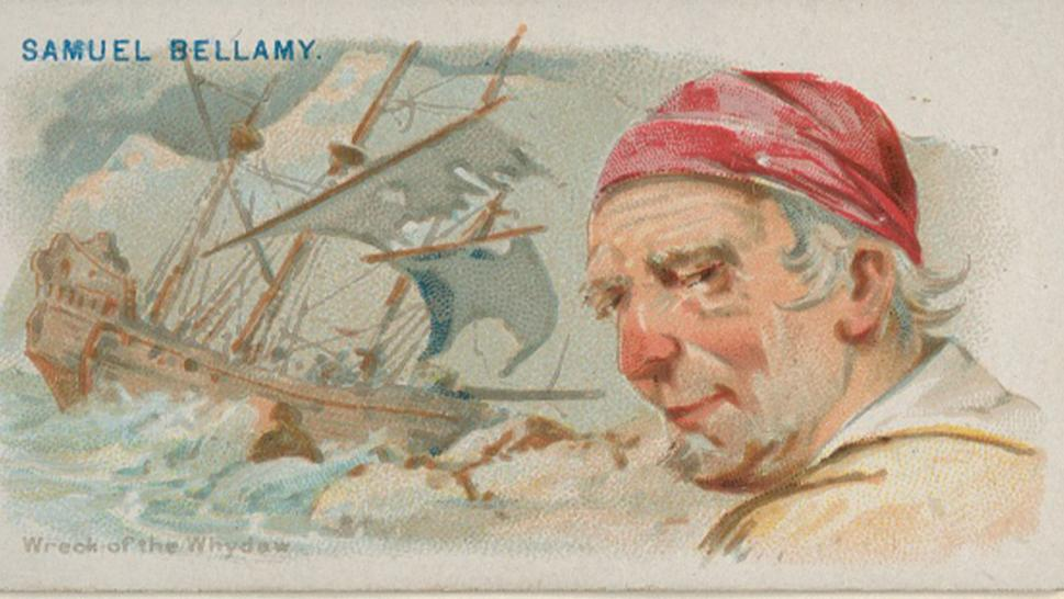 Captain Samuel Bellamy, wreck of The Whydah