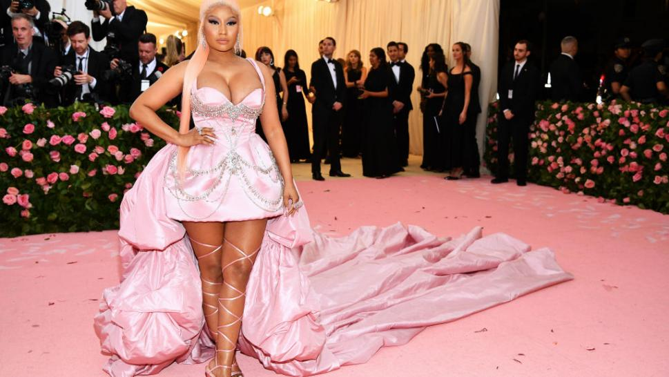 Nicki Minaj attends The 2019 Met Gala Celebrating Camp: Notes on Fashion at Metropolitan Museum of Art on May 06, 2019 in New York City