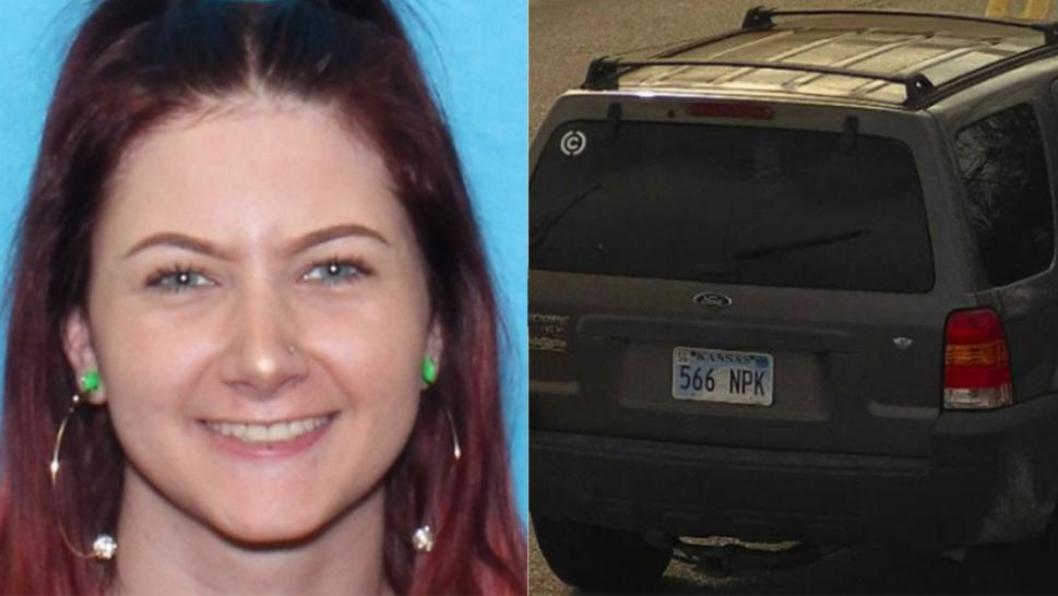 Kaylah Blackmon, 18, and her grey 2005 Ford Escape were found.