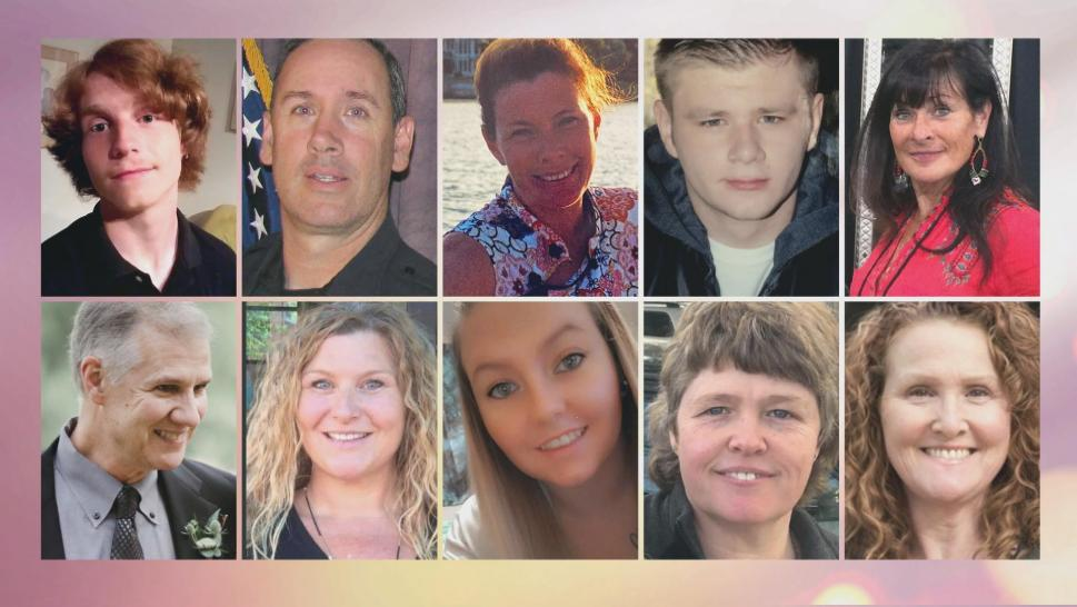 Victims of the Boulder supermarket shooting