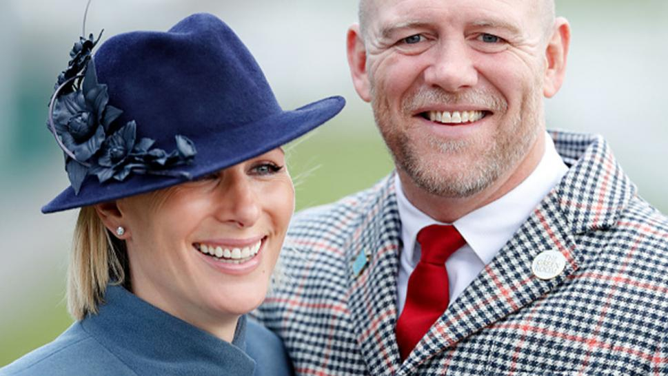 Queen Elizabeth II's granddaughter Zara Tindall and her husband, Mike Tindall