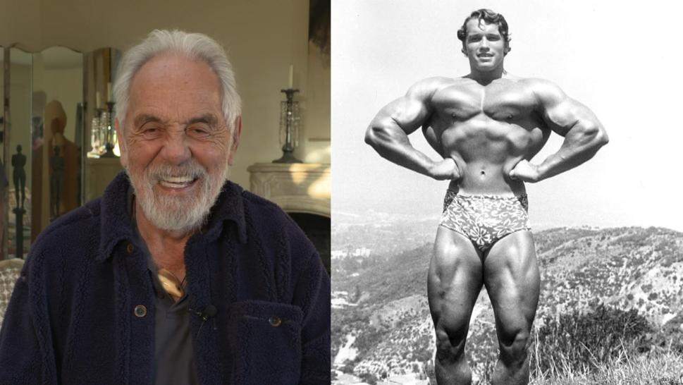 Cheech and Chong's Tommy Chong recalls the days he used to hang out with world famous body builders, including Arnold Schwarzenegger.