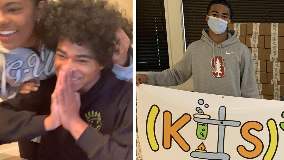 Oakland Teen's Amazing Reaction to Getting Into 11 Colleges