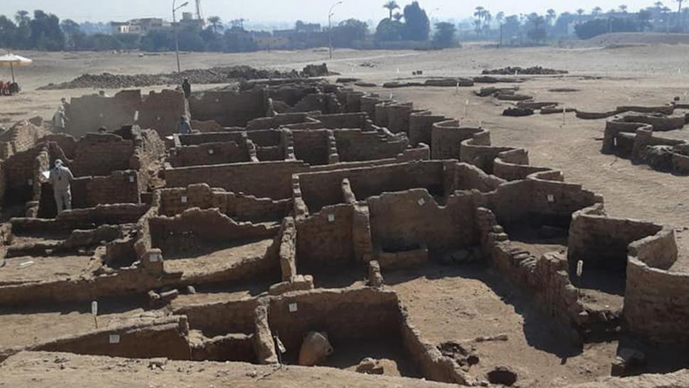 3,000 year-old ancient Egyptian city discovered by team of archeologists led by Dr. Zahi Hawass