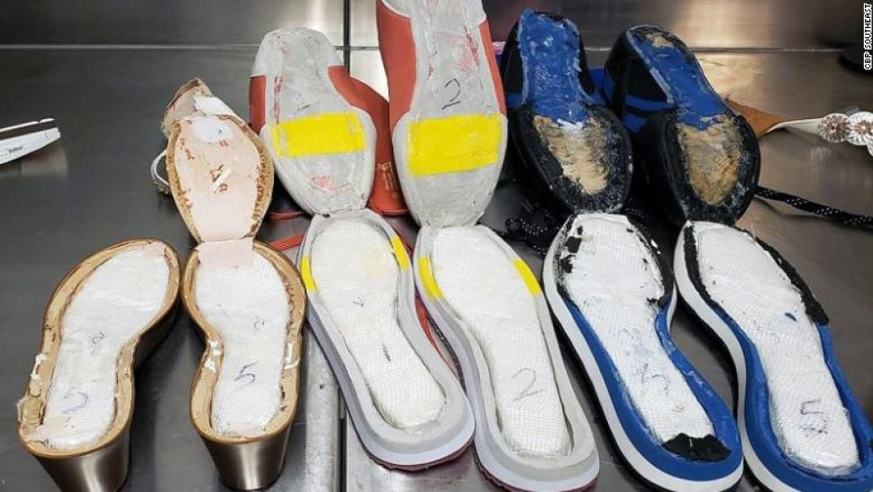CBP officers at Atlanta airport find 3 pounds of cocaine in shoes