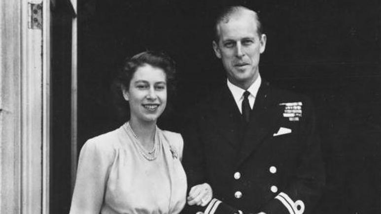 Elizabeth and Phillip announced their engagement in 1947.
