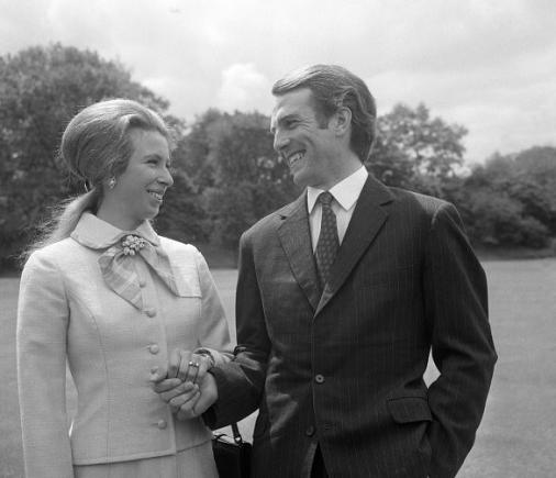 Princess Anne became engaged to Capt. Mark Phillips in 1973.