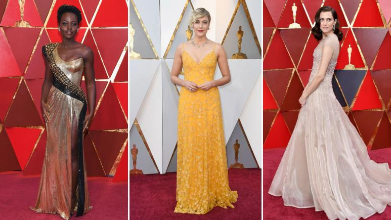Lupita Nyong'o, Greta Gerwig and Allison Williams light up the red carpet.