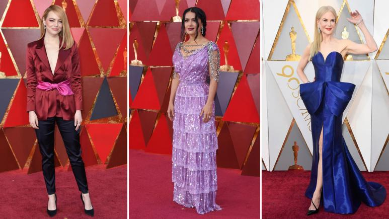 Red carpet Oscars 2018