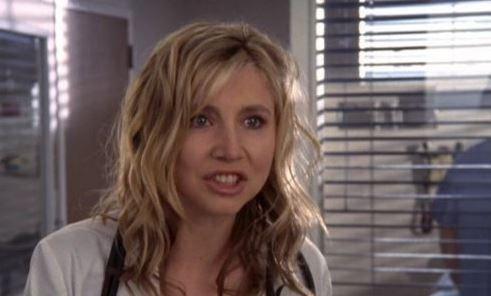 Sarah Chalke in a 2001 episode of 'Scrubs.'