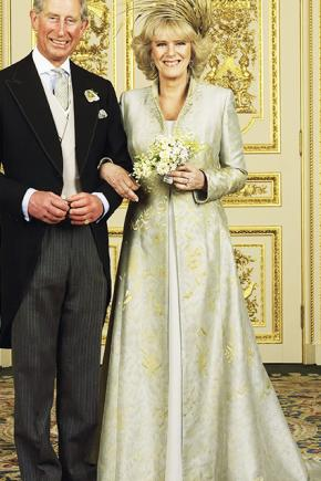 The wedding of Prince Charles and Camilla Parker Bowles was low-key.