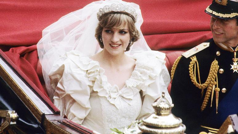 Charles and Diana were wed in 1981.