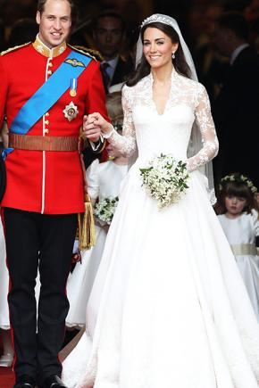 Prince William and Kate Middleton were married in 2011.