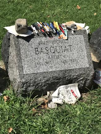 Basquiat Headstone