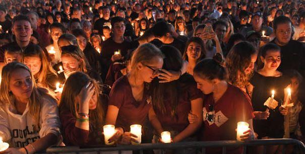Thousands attended a memorial for the Parkland victims.