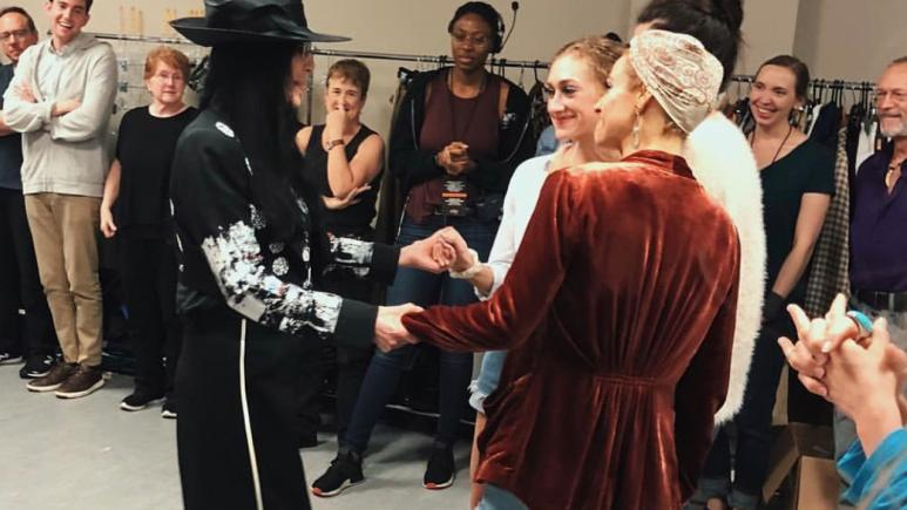 Micaela meets Cher.
