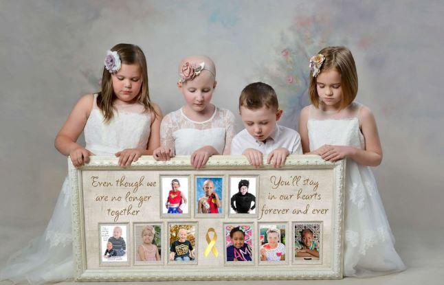 These cancer kids honor nine others who lost their battle with the disease.