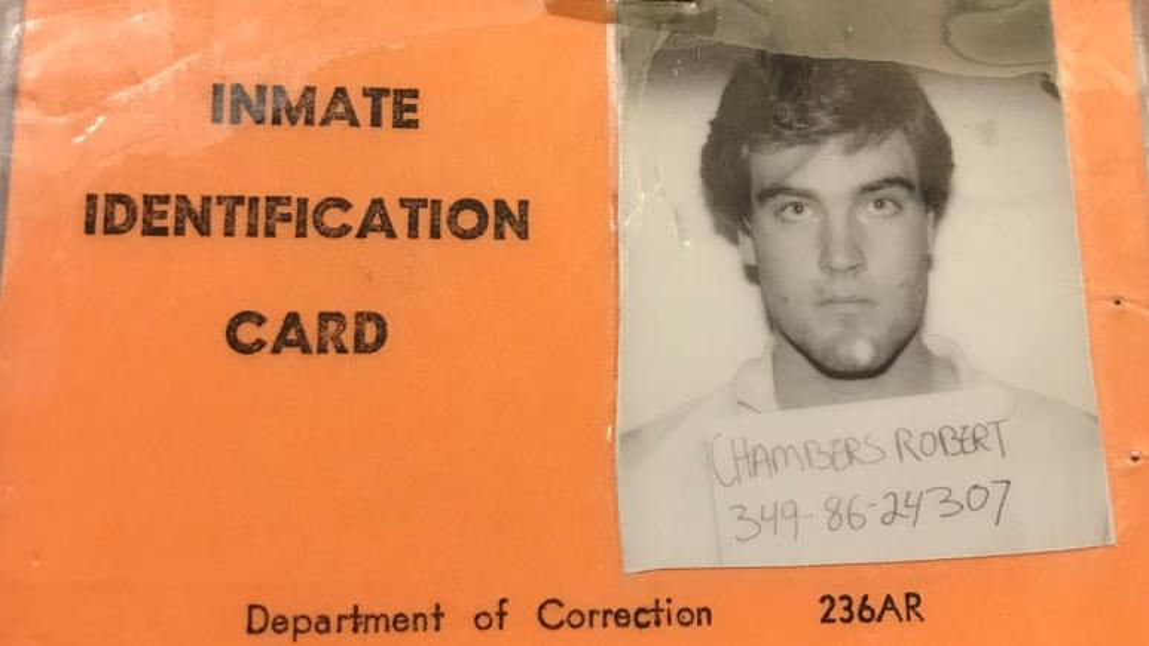 Robert Chambers' prison ID card.