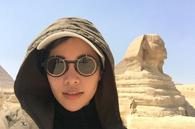Michelle Phan in Egypt