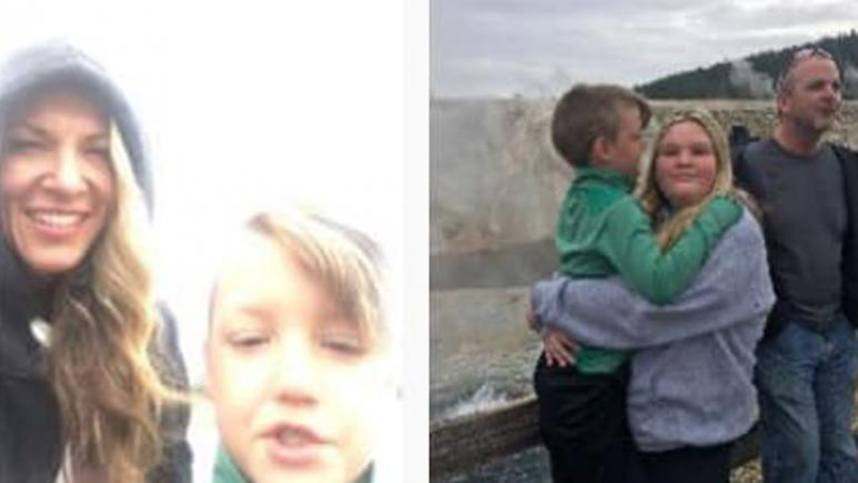 Joshua Vallow and Tylee Ryan seen with their mother Lori Vallow at Yellowstone.