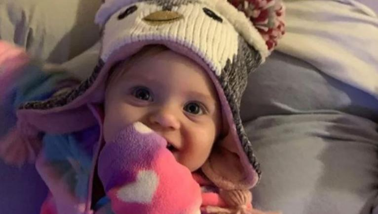 Baby Evelyn Boswell was reported missing in February.
