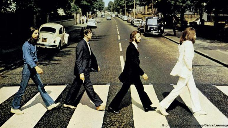 The Beatles 'Abbey Road' cover.
