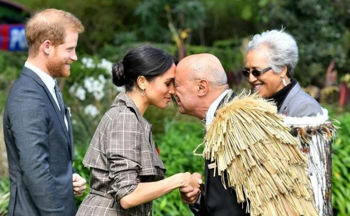Prince Harry and Meghan Markle during 2018 New Zealand trip.