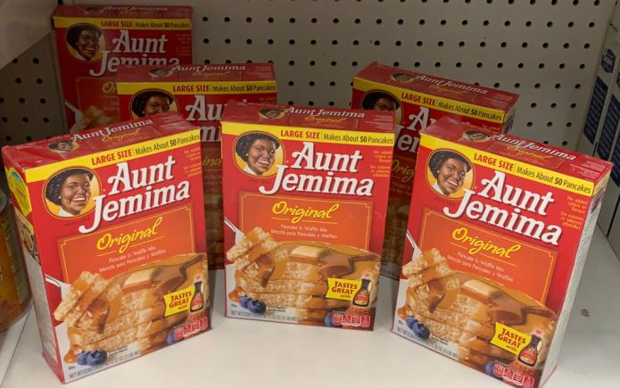 Aunt Jemima is dropping its name, image.