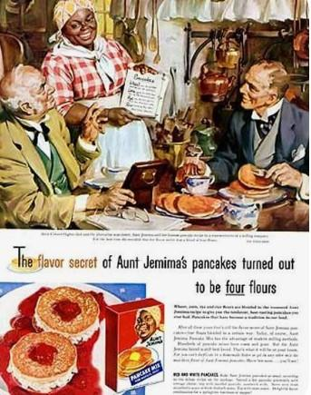 An Aunt Jemima ad from the past.