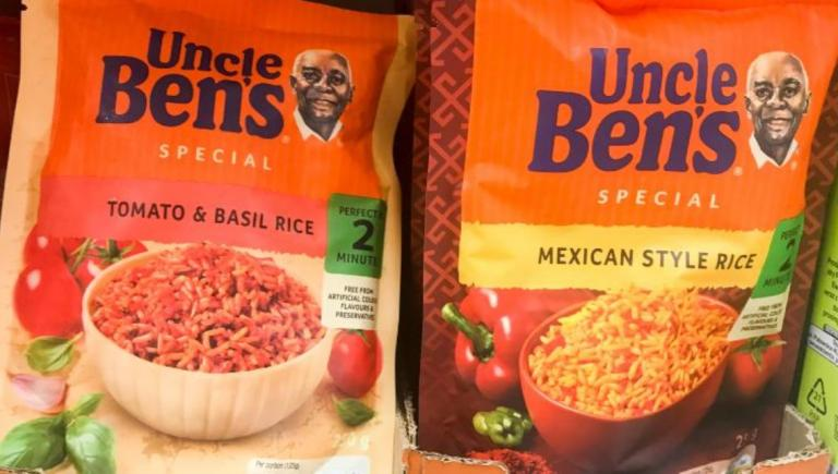 Uncle Ben's rice is also changing its image.